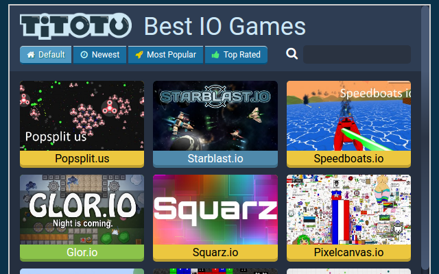 All  io Games Online — Play for free at Titotu io