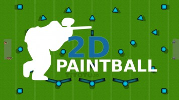 2D Paintball: Пейнтбол ио