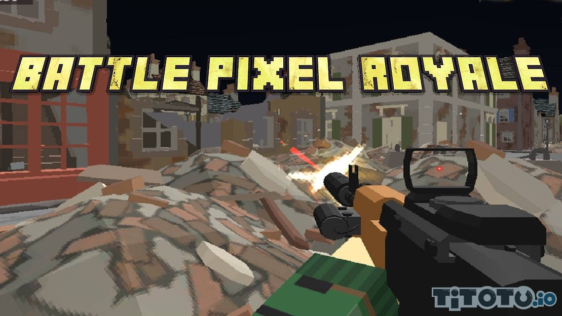 Battle Pixel Royale — Play for free at Titotu io