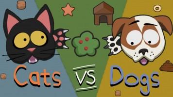 Catsvsdogs io: Коты против собак ио  — Играть бесплатно на Titotu.ru