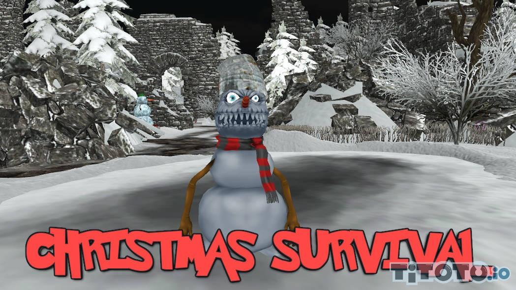 Christmas Survival io