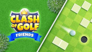 Clash Of Golf Friends: Столкновение друзей по гольфу