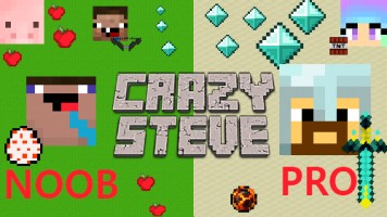 Crazy Steve io — Play for free at Titotu.io