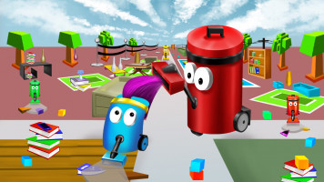 Dust Buster io — Play for free at Titotu.io