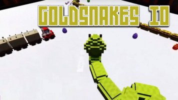 Goldsnakes io: Золотые змеи