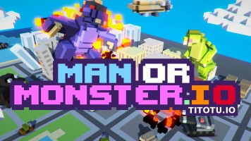 ManOrMonster io — Play for free at Titotu.io