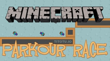 Minecraft Parkour Race