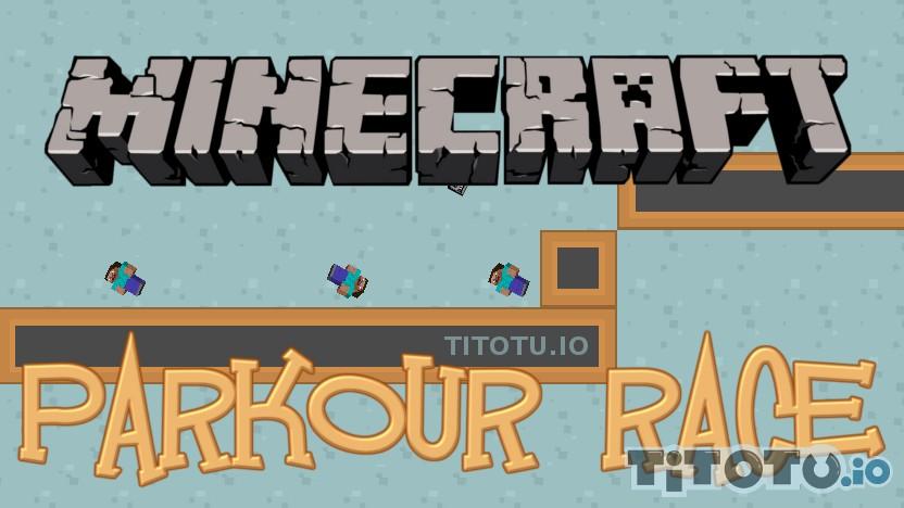 Minecraft Parkour Race