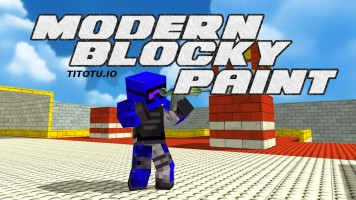 Modern Blocky Paint