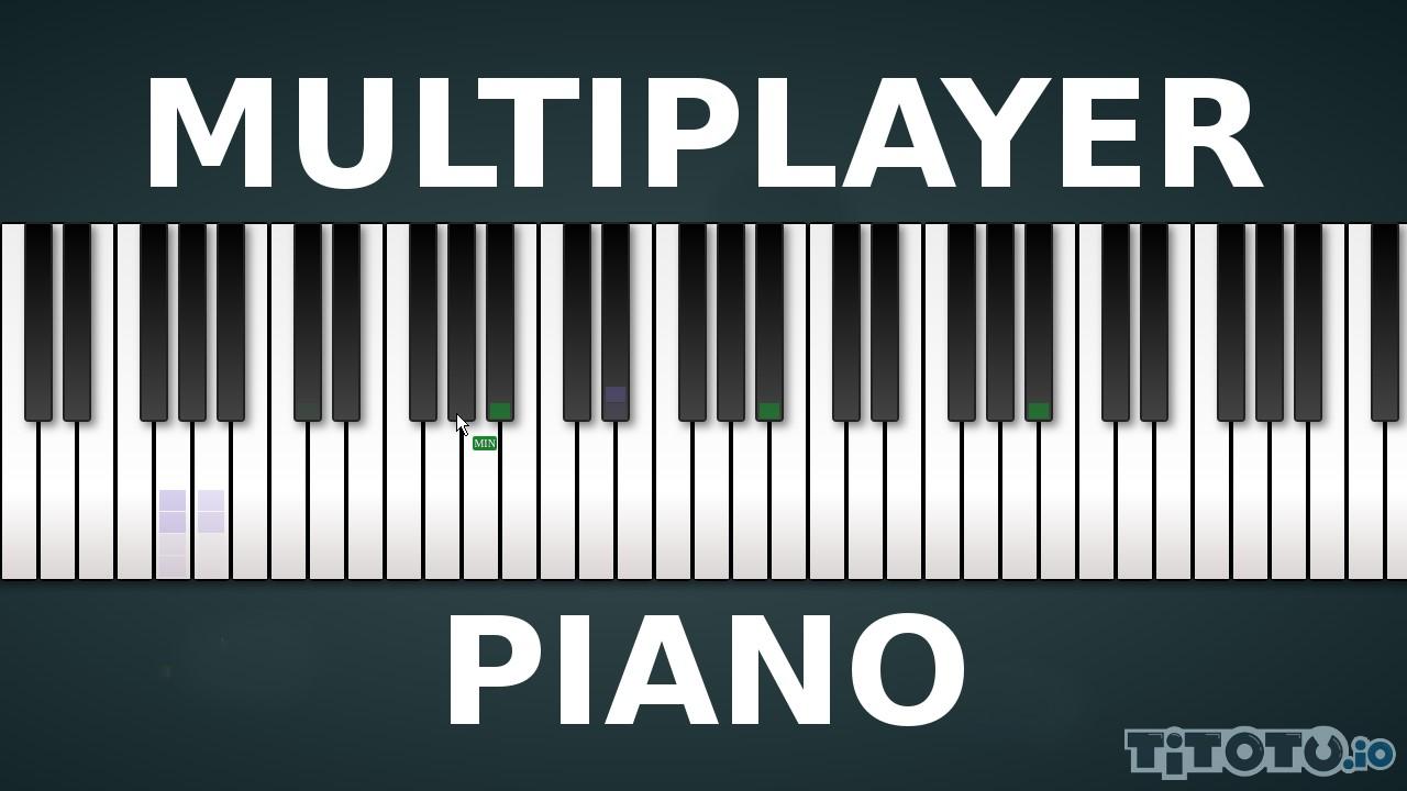 Multiplayerpiano.com: Пианино ио