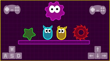 Neon Slimes io — Play for free at Titotu.io