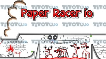 Paper Racer io: Stickman Racing!