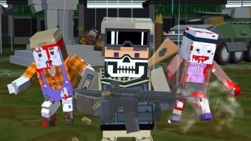 Pixel Zombie Shooter: Пиксельный зомби-шутер