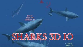 Sharks 3D io | Акулы 3D ио — Играть бесплатно на Titotu.ru