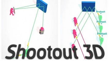 Shootout 3D — Play for free at Titotu.io