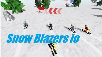 Snow Blazers io | Слалом ио
