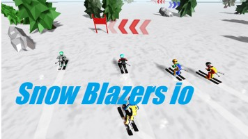 Snow Blazers io | Слалом ио — Играть бесплатно на Titotu.ru