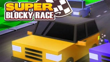 Super Blocky Race: Супер блочная гонка
