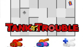Tank trouble — Play for free at Titotu.io