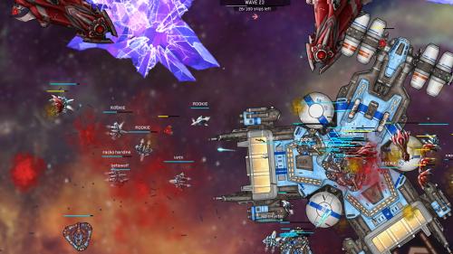 Hyper Fleet — командная игра на выживание в космосе
