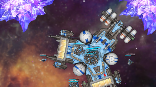 Hyper Fleet io team space shooter