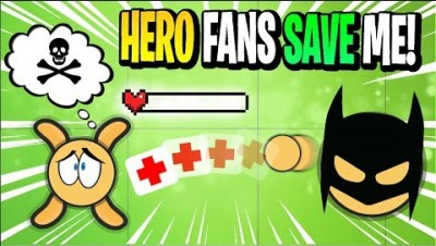 0 HEALTH RESCUE! Surviv.io SUPERHERO FANS SAVE ME! Livestream Highlights & Funny Moments Surviv.io!