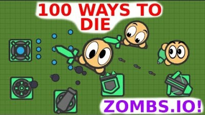 100 Ways to DIE in ZOMBS.IO | How to Die in Zombs.io | iXPLODE LeeZY