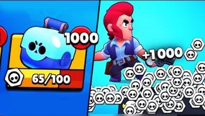 1000 BOXES?! COLT in Big Game // BrawlStars