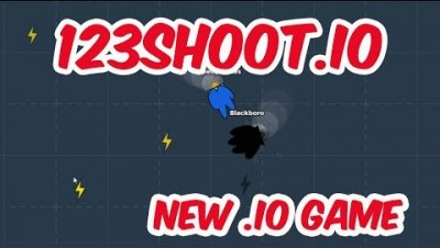 123SHOOT.IO - First Gameplay & New .IO Game