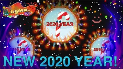 2020 YEAR IN AGMA.IO | POWERUPS DESTRUCTION AGMA