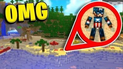 2v2 Sandy Battledome Modded Desert Oasis *Super Hero Update* - Minecraft 1.12.2 Modded Battledome