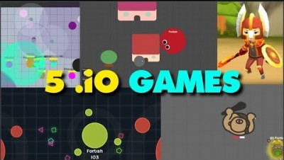 5 IO GAMES YOU SHOULD TRY // Presentation of 5 .io games in one video #1