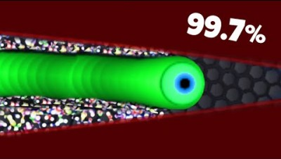 99.7% SLITHER.IO PLAYERS CAN'T DO THIS - Slitherio Master REACTS! #1