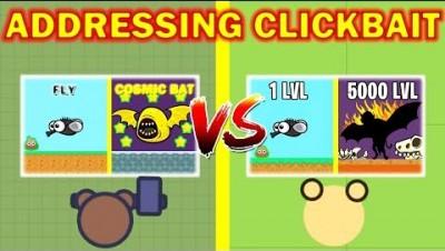 Addressing YouTube Clickbait: An Honest Take (.io Games)
