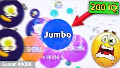 Agar.io 200 IQ Player *WINS* the game in Agario