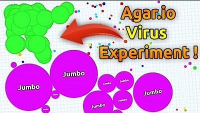Agar.io Virus Experiment