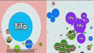 Agar.io Where is: the Friend & the Enemy