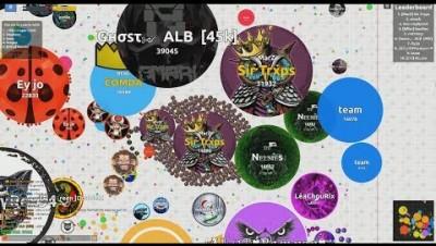 Agma.io - A multiplayer MMO game (Agar.io)