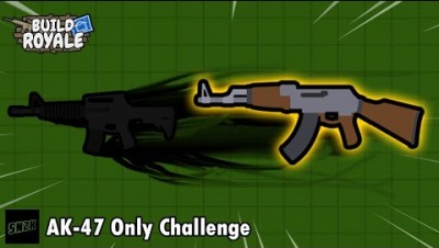 AK-47 Only Challenge || BuildRoyale.io