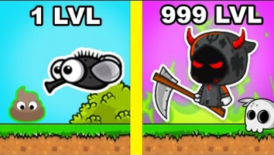 All Animals Max Level Evolution in FlyOrDie.io