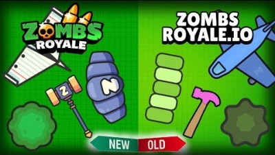 ALL *NEW* MAP!! Zombsroyale.io INSANE MAKEOVER UPDATE & DOUBLE WIN!!