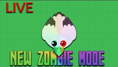 All New Zombie Mode (probably full) - Playing Mope.io /w Saeng LIVE | #mopeio #saturday #Saengio