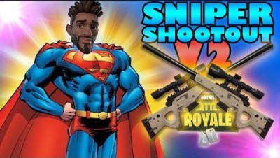 Amazing Snipes! - Fortnite Sniper Shootout V2