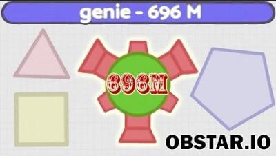 ANOTHER Diep.io Clone? - Obstar.io (696M Score, Diep3.io)