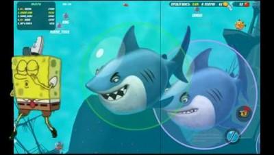 AQWAR.IO - новая  io игра!Новый рекорд. agar.io, slither.io, diep.io про рыбок.Edkubb game