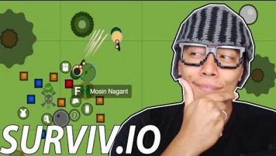 ARMA RARA APARECEU NO VIDEO - Surviv.io