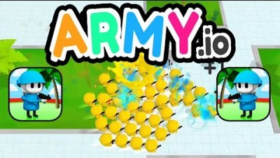 ARMY.IO GAMEPLAY AND FIRST HIGHSCORES