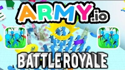 ARMY.IO NEW BATTLE ROYALE MODE NEW MAPS