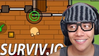 AS NOVAS CASAS E EMOTES - Surviv.io