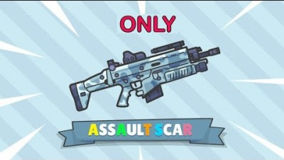 ASSAULT SCAR only | Zombs Royale